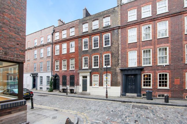 Thumbnail Town house for sale in Folgate Street, London