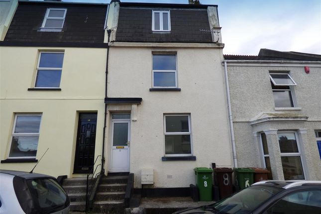 Thumbnail Terraced house to rent in Kensington Road, Plymouth