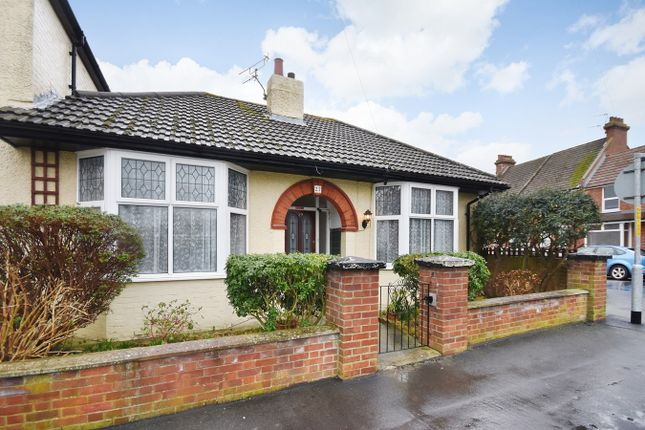 Thumbnail Bungalow for sale in Park Road, Folkestone