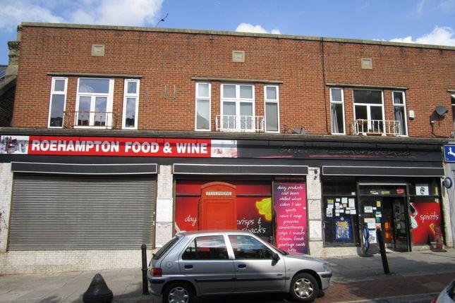 Thumbnail Retail premises for sale in Roehampton High Street, London