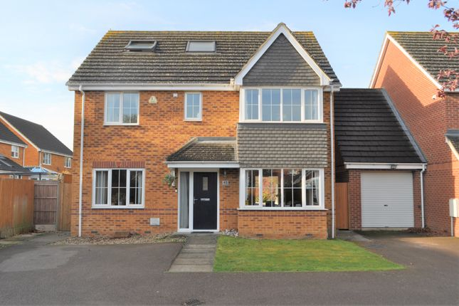 "Thumbnail Detached house for sale in The Hermitage, ""Church End"", Arlesey, Beds"