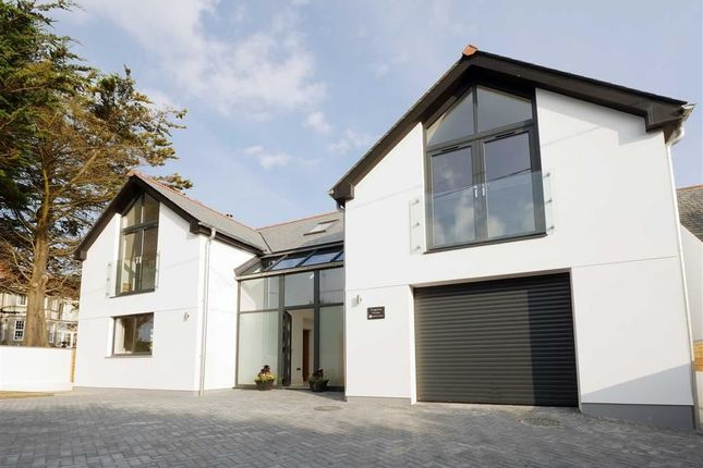 Thumbnail Detached house for sale in Flexbury Park Road, Bude, Cornwall