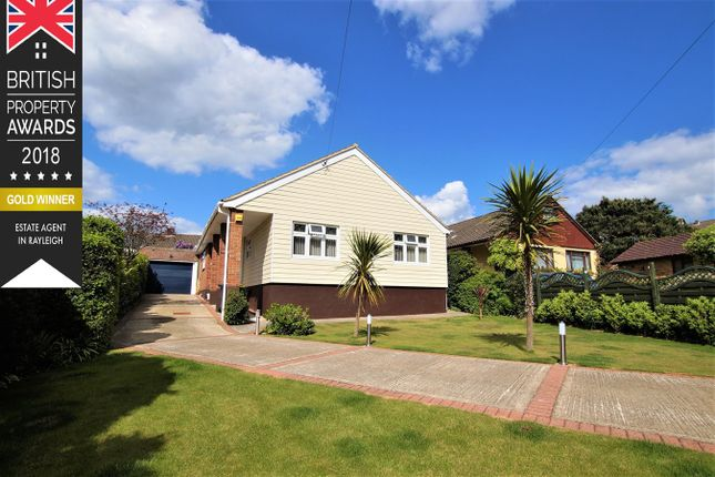 Thumbnail Detached bungalow for sale in Elm Close, Rayleigh