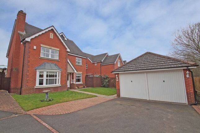 Thumbnail Detached house for sale in Great Hockings Lane, Webheath, Redditch