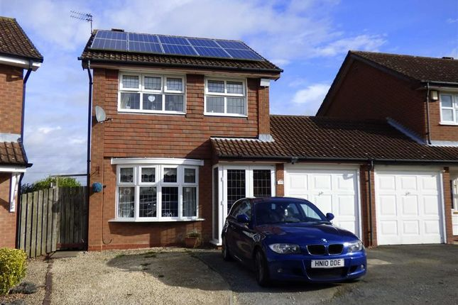 Thumbnail Link-detached house for sale in Gatcombe Close, Wolverhampton