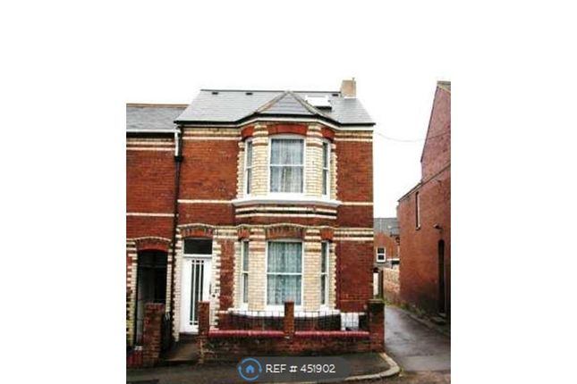 Thumbnail Terraced house to rent in Monkswell Road, Exeter