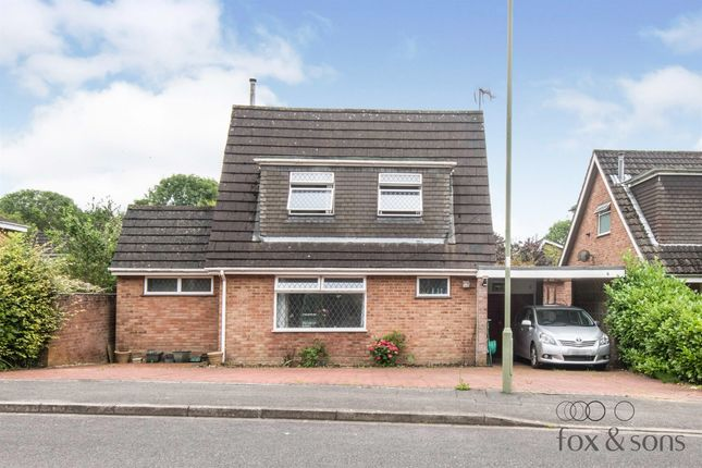 Thumbnail Detached house for sale in Torwood Gardens, Fair Oak, Eastleigh