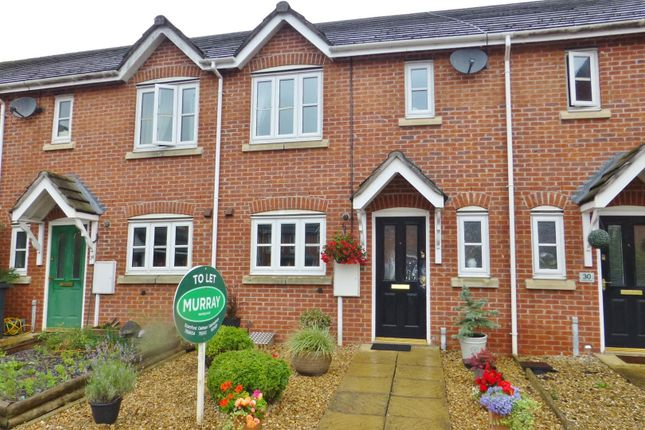 Thumbnail Terraced house to rent in Ruddle Way, Langham, Oakham