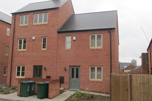 Thumbnail Semi-detached house to rent in Kilby Mews, Coventry