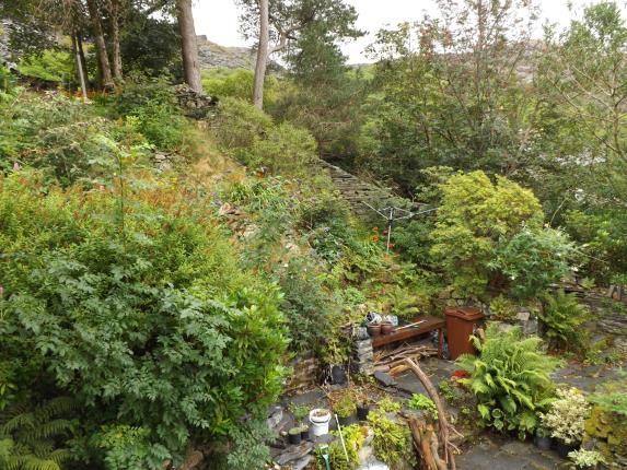 Side Garden of Upper Llwyngell Terrace, Rhiwbryfdir, Blaenau Ffestiniog, Gwynedd LL41