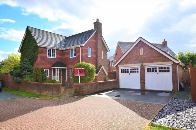 Thumbnail Detached house for sale in Eleanor Harris Road, Baschurch, Shrewsbury