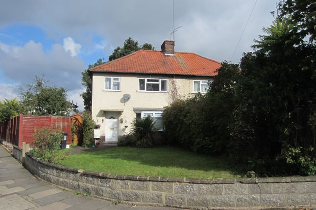 Thumbnail Semi-detached house to rent in Chilcott Road, Watford