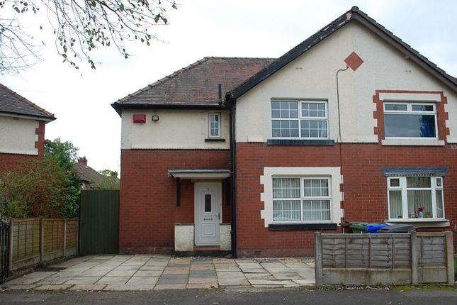 Thumbnail Semi-detached house for sale in Pollitt Avenue, Ashton-Under-Lyne