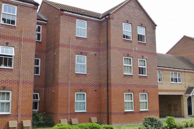 Thumbnail Flat to rent in The Sidings, Oakham