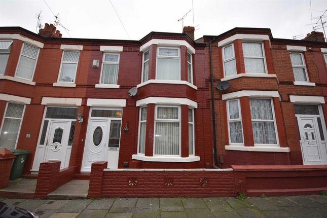 Thumbnail Terraced house to rent in Clifford Road, Wallasey
