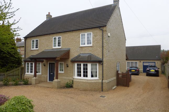 Thumbnail Detached house for sale in Gull Road, Guyhirn, Wisbech