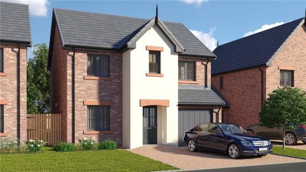 Thumbnail Detached house for sale in Plot 29 The Wreay, St. Cuthberts, Off King Street, Wigton