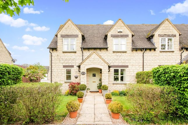 Thumbnail End terrace house for sale in Acer Close, Bradwell Village, Burford