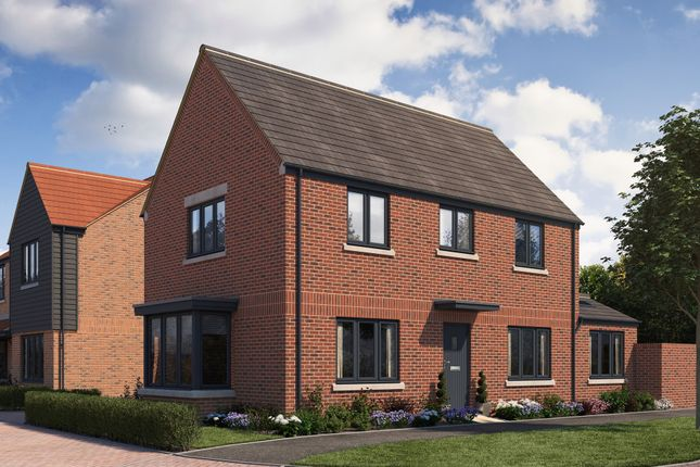 """Thumbnail Detached house for sale in """"Kiswick"""" at Stonehill Road, Ottershaw, Chertsey"""