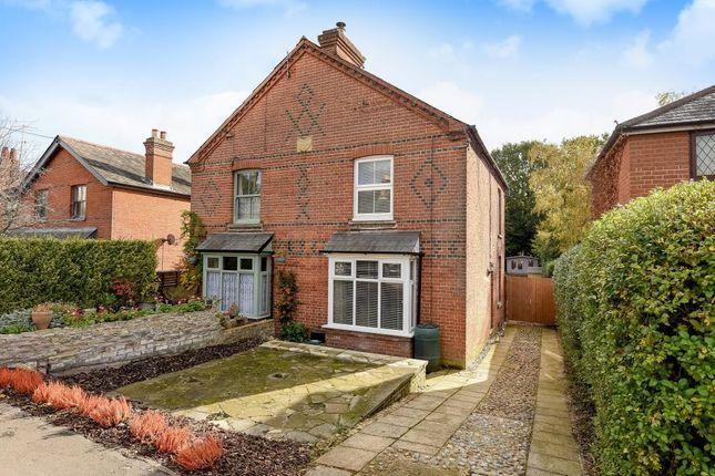 Thumbnail Semi-detached house for sale in Chertsey Road, Windlesham