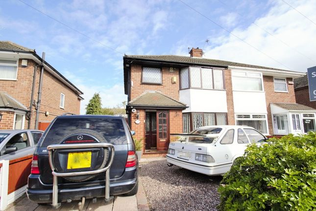 Thumbnail Semi-detached house to rent in Briarfield Avenue, Widnes