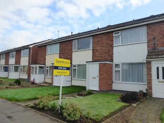 Thumbnail Terraced house for sale in Broomfield, East Goscote, Leicestershire