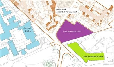 Thumbnail Land for sale in Employment Development Land, Mellior Park, Trevenson Road, Pool, Cornwall
