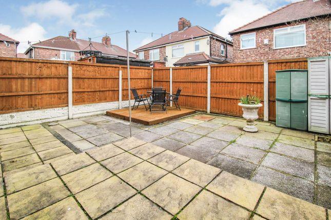 Rear Garden of Lunar Road, Liverpool L9