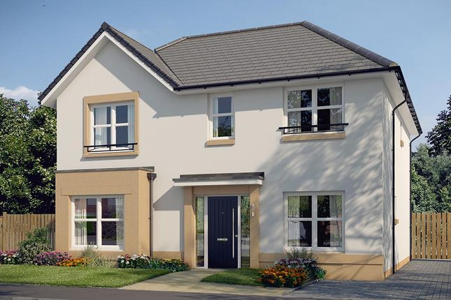 "Thumbnail Detached house for sale in ""The Pendlebury"" at Bowmont Terrace, Dunbar"