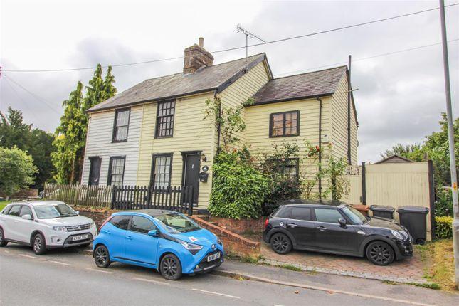 Thumbnail Semi-detached house for sale in High Wych Road, Sawbridgeworth