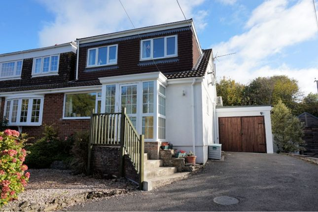 Thumbnail Semi-detached house for sale in South Knighton, Newton Abbot