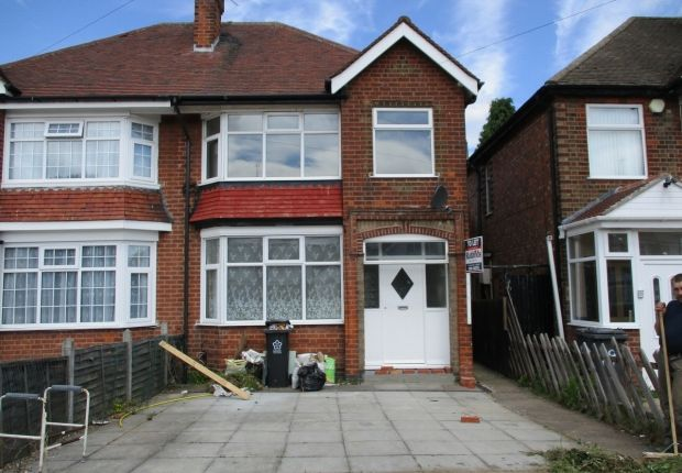 Thumbnail Semi-detached house to rent in Woodbridge Road, Leicester