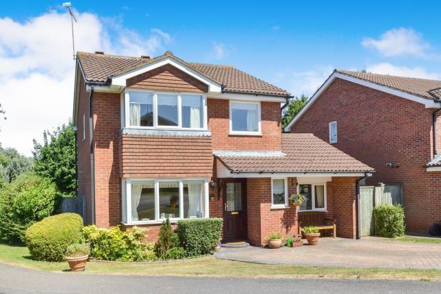 Thumbnail Detached house for sale in Lark Close, Buckingham, Buckinghamshire