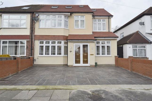 Thumbnail Semi-detached house for sale in Shaftesbury Avenue, Southall, Middlesex