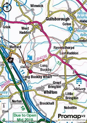 Long Buckby Map Location