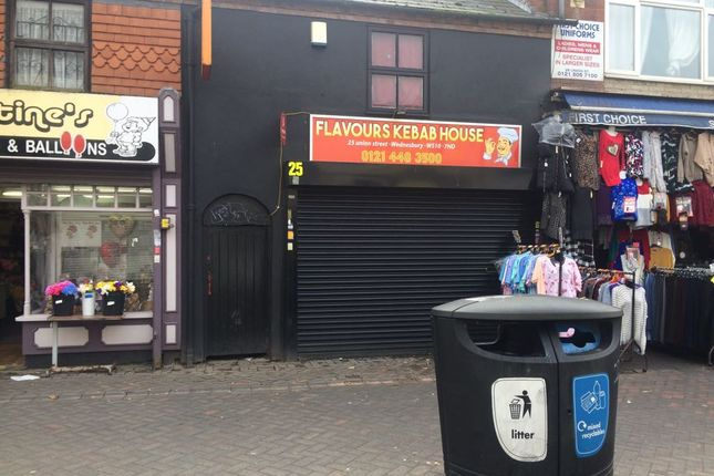 Thumbnail Restaurant/cafe for sale in Union Street, Wednesbury