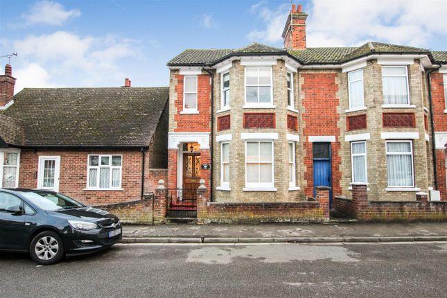 Thumbnail End terrace house for sale in Grove Road, Leighton Buzzard