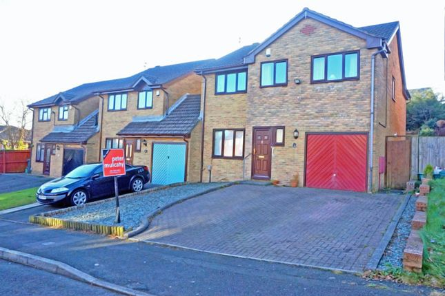 Thumbnail Link-detached house for sale in Priory Gardens, Barry