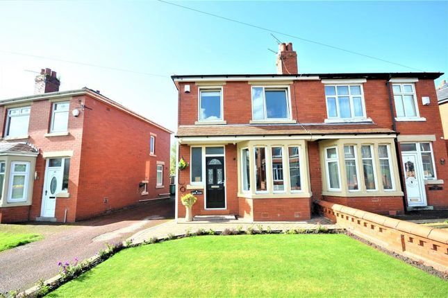 Thumbnail Semi-detached house for sale in Tudor Avenue, Preston, Lancashire