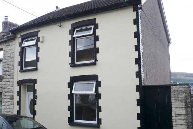 Thumbnail End terrace house for sale in Penygraig -, Tonypandy