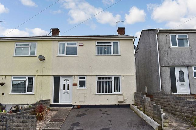 Thumbnail End terrace house for sale in Wimbourne Crescent, Pencoed, Bridgend .