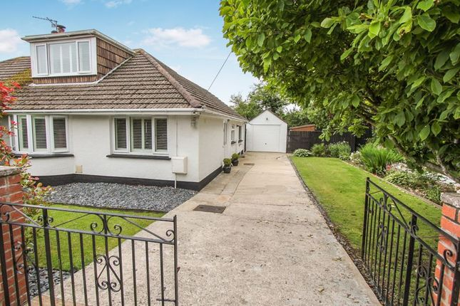 Thumbnail Semi-detached bungalow for sale in Wesley Avenue, Rhoose, Barry