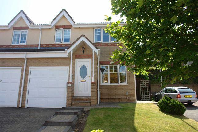 Thumbnail Semi-detached house to rent in Morgans Way, Blaydon-On-Tyne