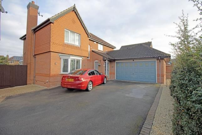 Thumbnail Detached house for sale in Kingsdale Grove, Chellaston, Derby, Derbyshire
