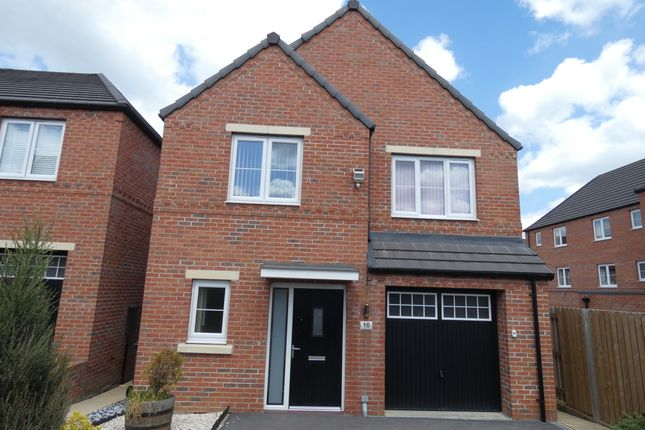 Thumbnail Detached house for sale in Avocet Close, Mexborough