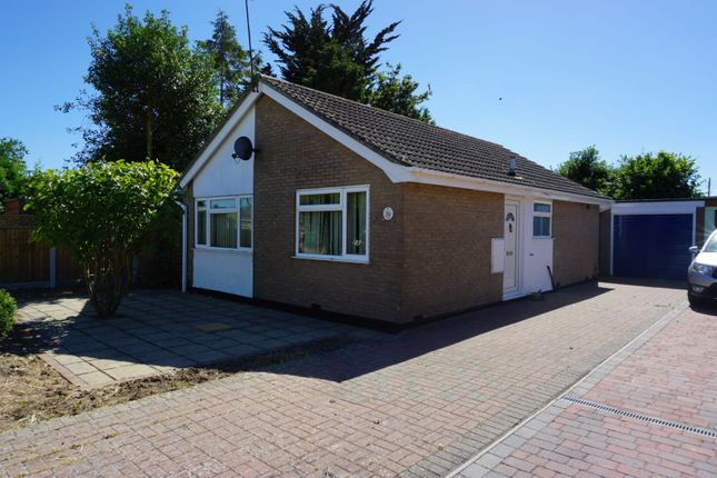 Thumbnail Detached bungalow for sale in Hatchcroft Gardens, Colchester