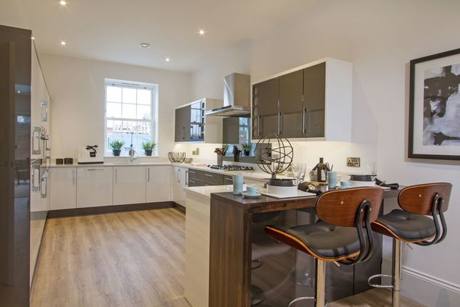 Thumbnail Terraced house for sale in Royal Clarence Yard Weevil Lane, Gosport