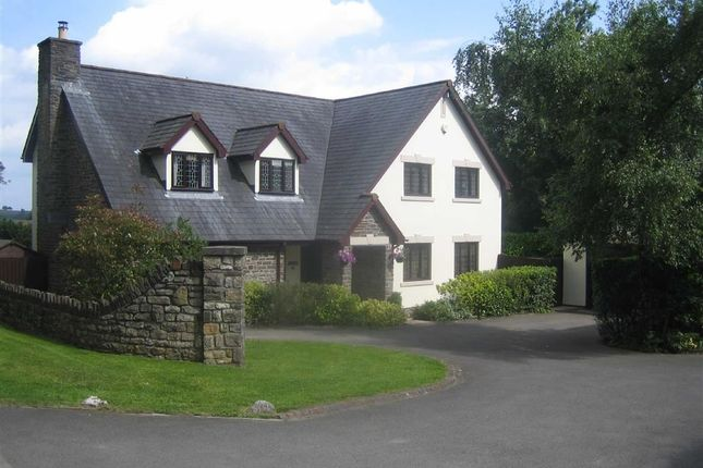 Thumbnail Detached house for sale in Wellfield Close, Coed Y Paen, Monmouthshire