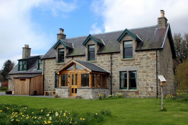 Thumbnail Detached house for sale in Stunning House, Lagg Of Drumuillie, Boat Of Garten
