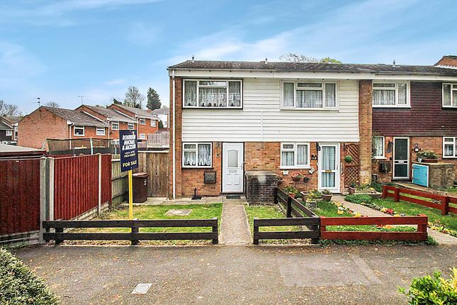 Thumbnail End terrace house to rent in Woodhurst, Chatham, Kent